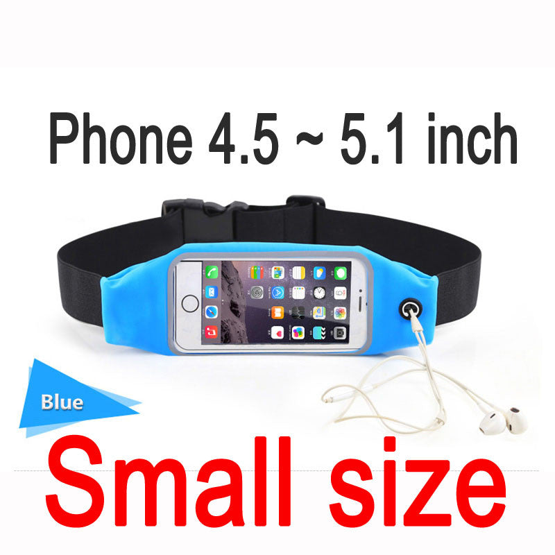 Gym Waist Bag Waterproof Sport Accessories Universal Phone Case Pouch For iPhone 6 Plus Samsung Galaxy J5 S7 S6 S5 A3 2016