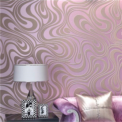 0.7m*8.4m wallpaper rolls Papel de parede Sprinkle gold murals damask wall paper roll modern  stereo  3D  mural wall paper roll - upcube