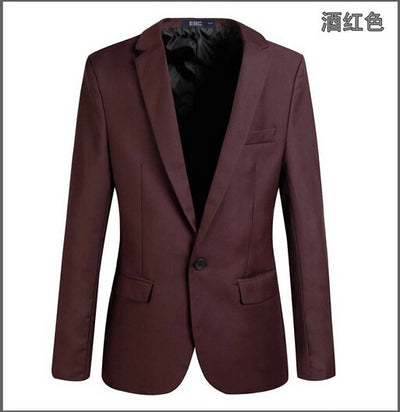 Casual Blazer Men Fashion Plus Size Business Slim Fit Jacket Suits Masculine Blazer Coat Button Suit Men Formal Suit jacket  dailytechstudios- upcube
