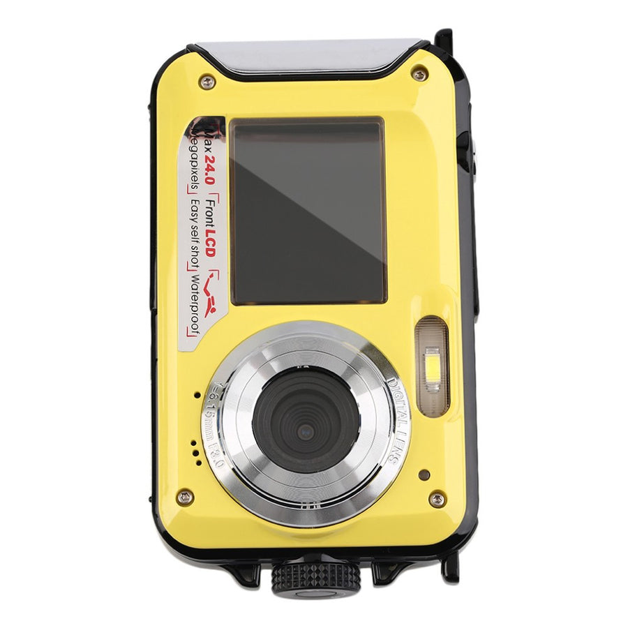 2.7inch TFT Digital Camera Waterproof 24MP MAX 1080P Double Screen 16x Digital Zoom Camcorder hot new