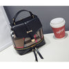 2016 new parquet shoulder  shoulder bag fashion small fresh bag Miss Han Banchao dual backpack  dailytechstudios- upcube