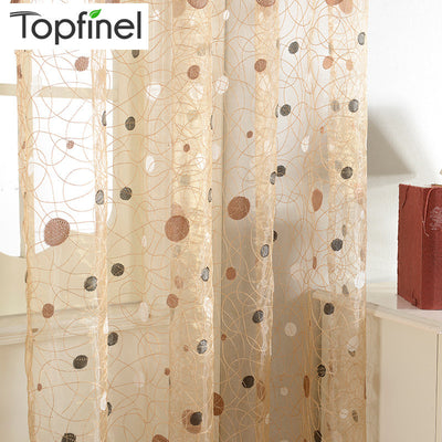 2015 New bird nest modern window sheer curtain for kitchen living room the bedroom finished blinds tulle for windows fabric