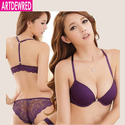 New 2016 Luxurious Elegance Vs Bra And Panty Set Y-line Underwear Set Female Sexy Lace Brand Push Up Secret Women Bra Set