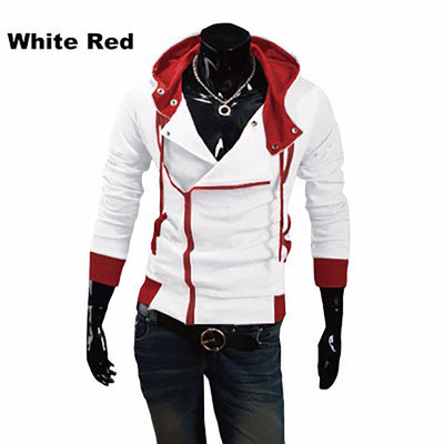 12 colors M-6XL 2016 Hoodies Men Sweatshirt Male Tracksuit Hooded Jacket Casual Male Hooded Jackets moleton Assassins Creed - upcube