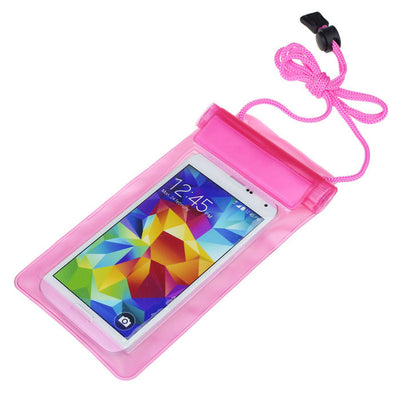 Case Cover for Iphone 4 4S 5 5s 6 6s 6S Plus Samsung Galaxy S3/4/5 Universal Waterproof Bag Case Under 5.5 inch on Smartphone