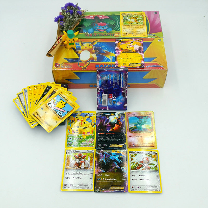 2017 New 17pcs/lot Pokemonend Cards Playing Toys English Anime Cards EX Trading Collection Games Figures Carte Pokemonend Toys