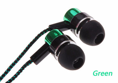 2016 New Fashion Earphones Sport Earphone Universal 3.5mm Earphones for xiaomi 2 Samsung S7 s6 iPhone MP3 VS Bluetooth Headset  dailytechstudios- upcube