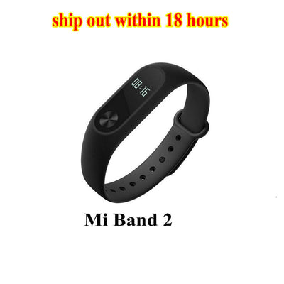 Original xiaomi mi band 2 bracelet bristband miband 2 Fitness Tracker Smart Bracelet Heart rate Monitor Android VS Mi Band 1S