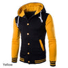 1Pc Autumn and Winter New Even the Cap Baseball Men's Slim Hoodie 8 Colors Size M-XXL