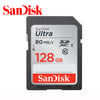100% Original SanDisk Class Ultra 128GB 64GB 32GB 16GB SD Memory Card C10 80MB/s for Camera Support Official Verification  dailytechstudios- upcube