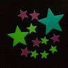Hot Sale Various Amazing Glow in Dark Luminous Cartoon Moon Star Nursery Baby Room Home Decor Wall Stickers for Kids Rooms Decal