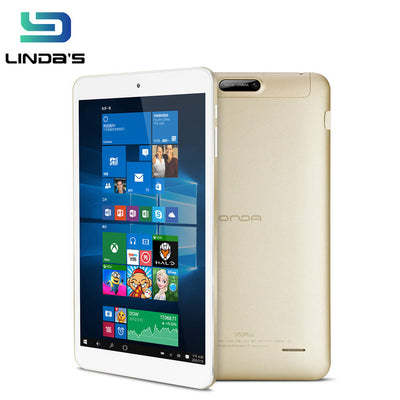 Onda V80 Plus Tablet PC Windows 10+Android 5.1 Dual OS Intel Cherry Trail Z8300 64bit Quad Core 8.0 inch 2GB+32GB Dual Camera