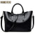 Bolso Mujer Negro 2016 Fashion Hobos Women Bag Ladies Brand Leather Handbags Spring Casual Tote Bag Big Shoulder Bags For Woman