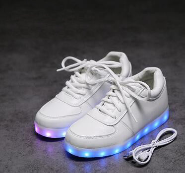 2017 High Quality Shoes Led Schoenen Man Light Up Chaussures For Men Casual Shoes Luminous Adults Homme Lumineuse