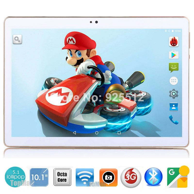 2017 Android tablet 10 inch Octa Core 3G Phone Call 4GB RAM 32GB ROM 1280*800 IPS Dual Cameras Android 5.1 GPS Tablets 10 10.1  dailytechstudios- upcube