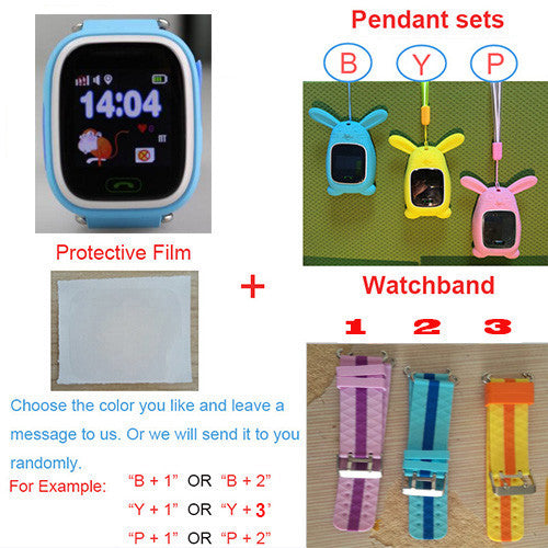 GPS smart watch baby watch Q90 with Wifi touch screen SOS Call Location DeviceTracker for Kid Safe Anti-Lost Monitor PK Q80 Q60