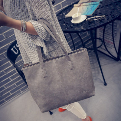 2017 Famous Designer Women Leather Handbags Causal Tote Bag Large Capacity Shoulder Bags Shopping Luxury Handbags Women Bags  dailytechstudios- upcube