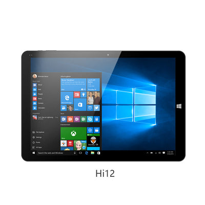 12 inch Tablet PC Chuwi Hi12 Dual OS Intel Cherry Trail Z8350 4GB RAM 64GB ROM 11000mAh Windows 10 Android 5.1 Micro USB 3.0  dailytechstudios- upcube