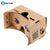 "High quality DIY Google Cardboard Virtual Reality VR Mobile Phone 3D Viewing Glasses for 5.0"" Screen Google VR 3D Glasses"