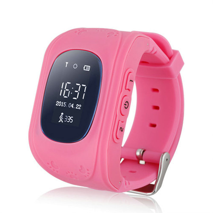 Q50 GPS Tracker Watch For Kids SOS GSM Mobile Phone App For Android Emergency GSM Smart Bracelet Wristband Alarm