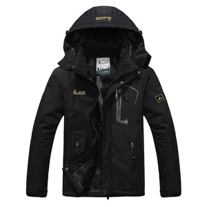2016 Large Size Top Quality Warm Outwear Winter Jacket Thicken  Hood Men Jacket Size L-4XL 9 Colors