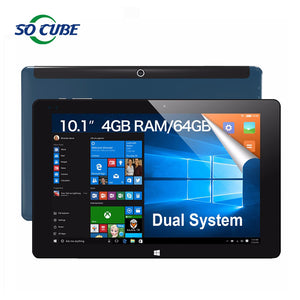 "10.1"" IPS 1920*1200 Cube iwork10 ultimate Dual Boot Tablet PC Windows10 + Android 5.1 Intel Atom X5 Z8300 Quad Core 4GB 64GB Rom"