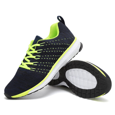 Lightweight Running shoes mesh sports shoes  jogging sneakers for women and man Autumn flat walking trend shoes