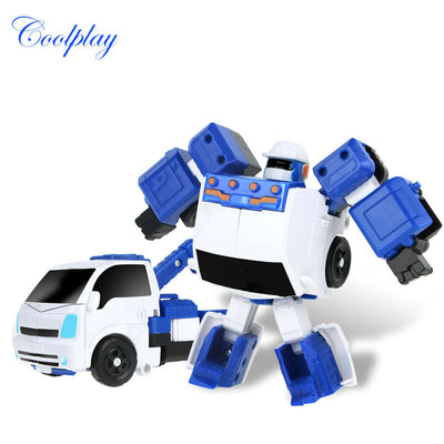 Coolplay 8 style 12 x 9cm Classic Transformation Plastic TOBOT Robot Cars Action & Toy Figures Kids Education Toy Gifts for boy  dailytechstudios- upcube