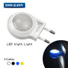 1Pcs Cute Mini LED Night lights Auto Sensor Smart lighting Control lamp AC110V - 240V Emergency Nightlight For Baby Bedroom Gift  dailytechstudios- upcube