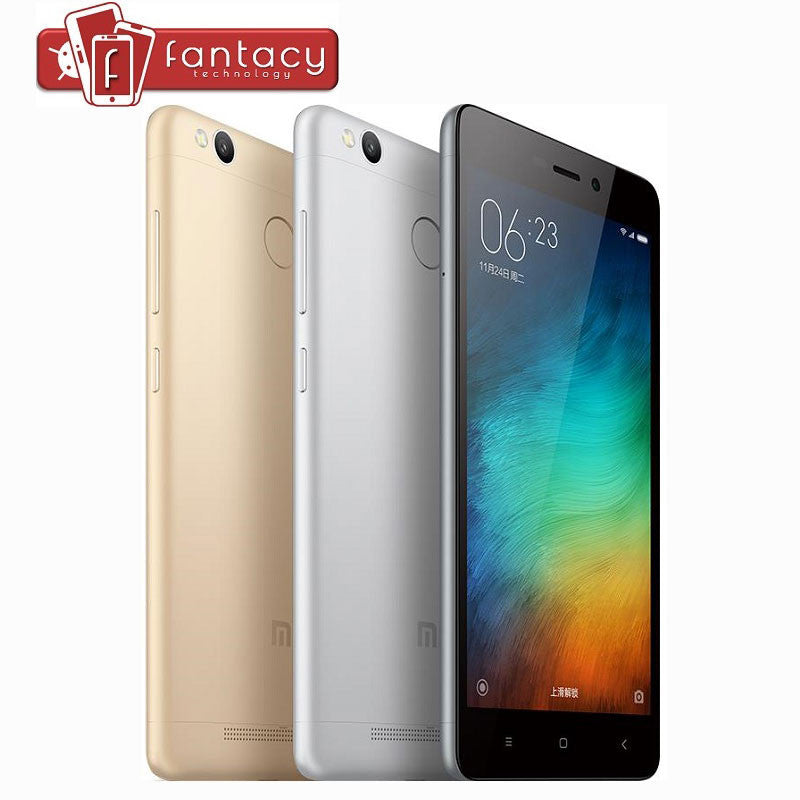 "Original Xiaomi Redmi 3S Pro Prime Global Version Mobile Phone Snapdragon 430 Octa Core 5"" HD 3GB RAM 32GB CE Support B8 B20"