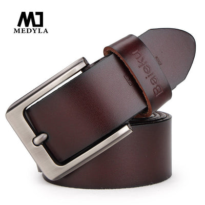 2017 cowleather mens cow genuine leather luxury strap male belts for men 3 colors cintos masculinos plate buckle cowhide  dailytechstudios- upcube