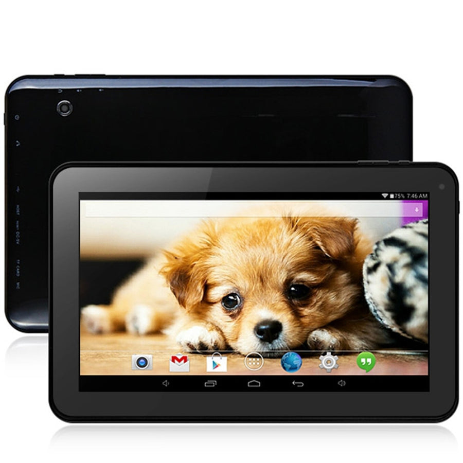 10.1 inch Android 4.4 Tablet PC WSVGA Screen 2.0MP+0.3MP Dual Cameras  A33 Quad Core 1.3GHz Mali-4001GB/16GB  WiFi Bluetooth - upcube