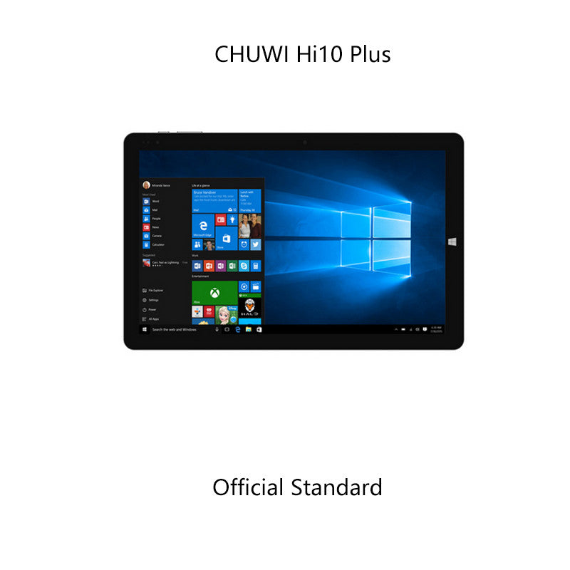 "10.8""inch CHUWI Hi10 Plus Intel Z8350 Quad Core 4GB RAM 64GB ROM Windows10+Android5.1 Dual OS Tablet PC 1920*1280  Type-C Tablet"