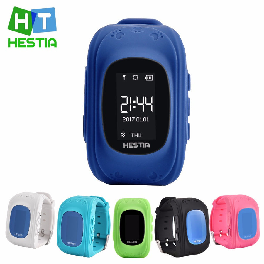 HESTIA HOT Q50 Smart watch Children Kid Wristwatch GSM GPRS GPS Locator Tracker Anti-Lost Smartwatch Child Guard for iOS Android