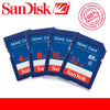 100% Genuine SanDisk 64GB 32GB 16GB 8G 8GB 4GB C4 SD SDHC Memory  SD Card class 4 Camera Memory Cards Pass Official Verification  dailytechstudios- upcube