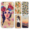 Animals Cartoon Cute Panda Girls Case for iphone 6 6s 7 Plus 7Plus 6Plus 5 5s SE soft silicone Protector Cover fundas bag Cases  dailytechstudios- upcube