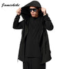 Hoodies and Sweatshirts Men Fashion 2017 Jamickiki Brand Male Black Casual Cotton Hoody Sudadera Hombre H01 Asian Size XXXXXL