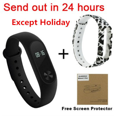 Stock Xiaomi Mi Band 2 Smart Bracelet Heart Rate Pulse Xiaomi Miband 2 Smart Wristband mi band 2 With OLED Screen Original