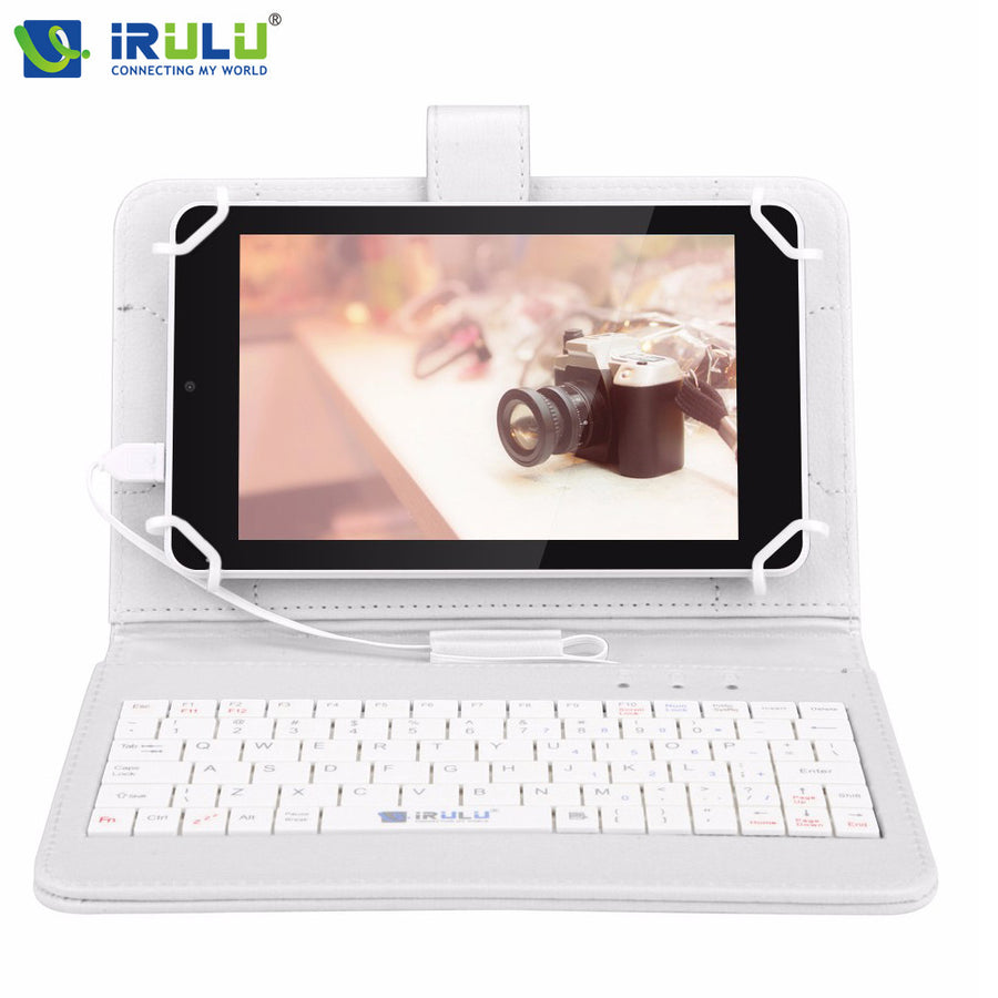 2016 iRULU eXpro X4 IPS 7'' GMS Android 5.1 Tablet PC Quad Core Dual Cam 1GB/16GB Bluetooth 4.0 HD 1280*800 w/EN Keyboard Case  dailytechstudios- upcube