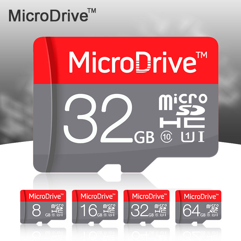 100% New  Red  Micro SD Card 64GB 32GB 16GB Class 10 High Speed Memory Card 8GB Class 6 Cartao de Memoria Carte SD Tarjeta  dailytechstudios- upcube