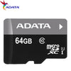 100% Original Adata memory card tf 64GB/32GB/16GB class10 UHS-I U1 tf card microsd card 32GB Waterproof Shockproof free shipping  dailytechstudios- upcube