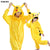 Flannel Warm onesies for adults onesie home clothing sets Pikachu pajamas woman cartoon Child cosplay christmas women pijama