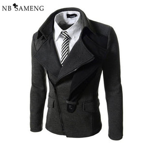 2017 New Fashion Mens England Style Casual Blazer Masculino Solid Suit Jacket Slim Fit Blazers Men Coat Dress Jackets 13M0461