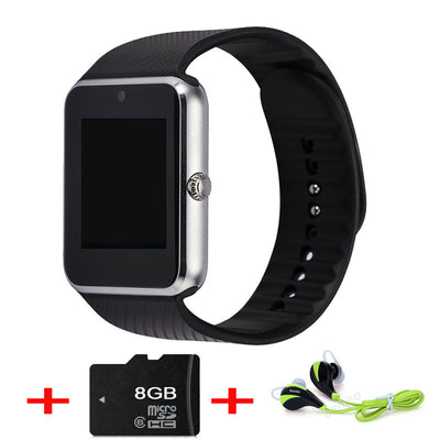 2017 Best Sell GT08 Bluetooth Smart Watch Phone Support TF Sim Card MP3 Push Message Smartwatch For apple Android OS PK GD19  dailytechstudios- upcube