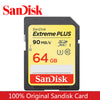100% Original Genuine SanDisk Extreme SDXC UHS-I 3 4K Memory Card Camera Class10 C10 90MB/s 600X High Speed 64GB 32GB 16GB 128GB  dailytechstudios- upcube