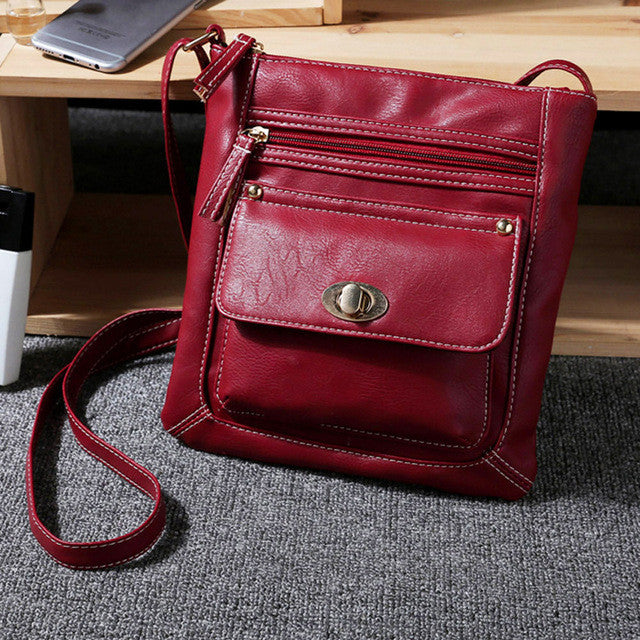 Women Messenger Bags Women's Handbag PU Leather Crossbody Shoulder Bag Small Female Bucket Bag bolsos mujer bolsas femininas