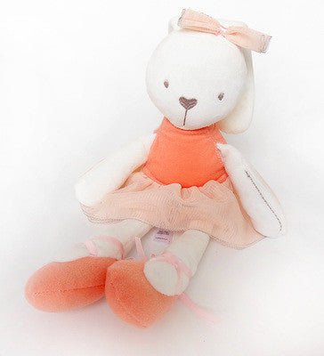 Baby Gift Registered Mail Hot Sale Cute Baby Kids Animal Rabbit Sleeping Comfort Doll Plush Toy Lovely Monkey