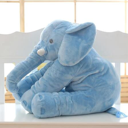 1pc 60cm Fashion Baby Animal Elephant Style Doll Stuffed Elephant Plush Pillow Kids Toy Children Room Bed Decoration Toys  dailytechstudios- upcube
