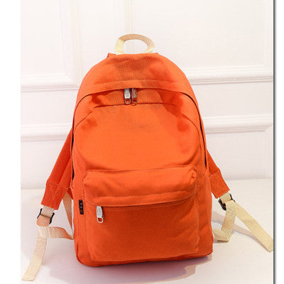 Hot 2016 New Brand Design Fashion Black Canvas Women Backpack Casual Travel Bags Preppy Style School Bags Brown mochila feminina
