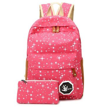 2016 Hot Sale Canvas Women backpack Big Capacity School Bags For Teenagers Printing Backpacks For Girls Mochila Escolar APB02  dailytechstudios- upcube